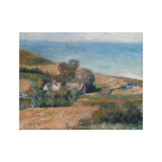 Impressão Em Tela Auguste Renoir - vista do Seacoast