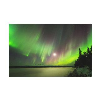 Impressão Em Tela Aurora majestosa