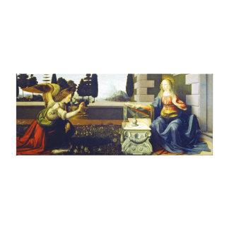 Impressão Em Tela Aviso de Leonardo da Vinci