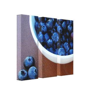 Impressão Em Tela Bacia grande de azul