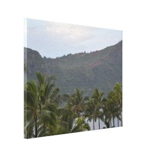 Impressão Em Tela Baía de Havaí Kalapaki em Kauai