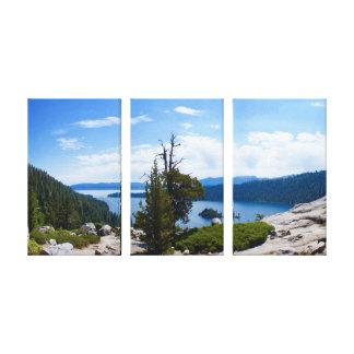 Impressão Em Tela Baía esmeralda Lake Tahoe