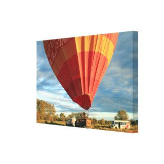 Impressão Em Tela Balão de ar quente do interior, Austrália