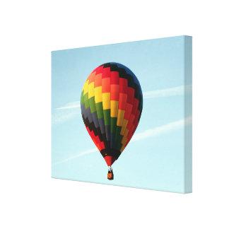 Impressão Em Tela Balão de ar quente no alto