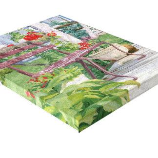 Impressão Em Tela banco da paisagem