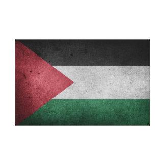 Impressão Em Tela Bandeira afligida de Palestina