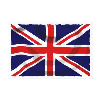 Impressão Em Tela Bandeira britânica