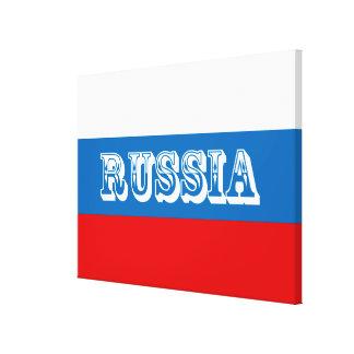 Impressão Em Tela Bandeira de Rússia
