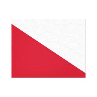 Impressão Em Tela Bandeira de Utrecht (cidade)