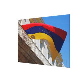 Impressão Em Tela Bandeira de Venezuela