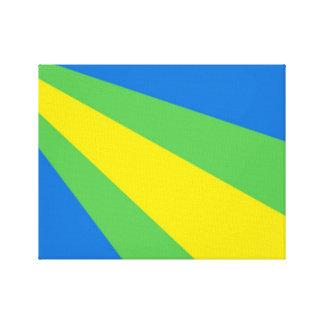 Impressão Em Tela Bandeira de Zeewolde