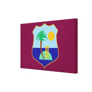 Impressão Em Tela Bandeira do grilo das Índias Ocidentais
