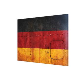 Impressão Em Tela Bandeiras de país afligidas | Alemanha