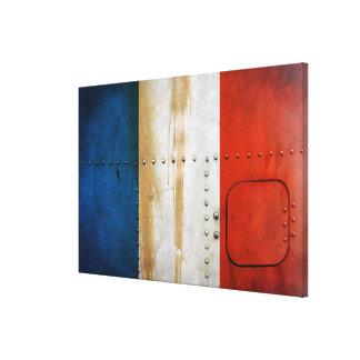 Impressão Em Tela Bandeiras de país afligidas | France