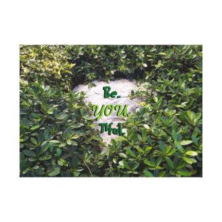 Impressão Em Tela Be.you.tiful e natural