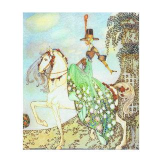 Impressão Em Tela Belas artes da princesa Minon Minette Kay Nielsen