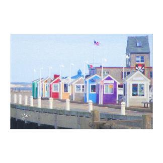 Impressão Em Tela Belas artes das cabines da P-Cidade