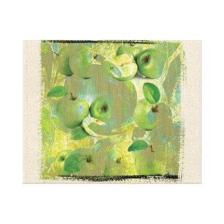 Impressão Em Tela Belas artes do sentido da vida verde!