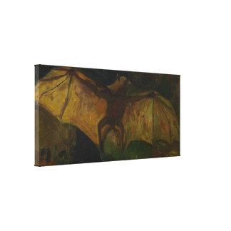 Impressão Em Tela Belas artes GalleryHD do Fox de vôo de Vincent van
