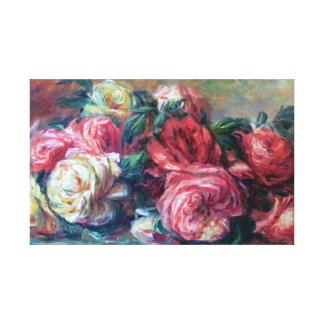 Impressão Em Tela Belas artes rejeitadas de Renoir dos rosas