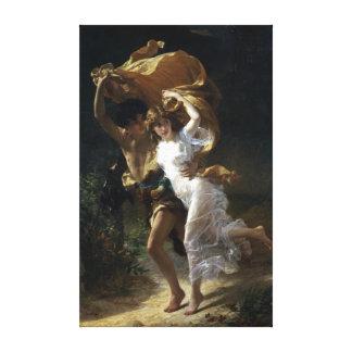 Impressão Em Tela Berço de Pierre-Auguste a tempestade