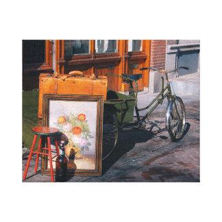 """Impressão Em Tela Bicicleta asiática 10"""" x 8""""/25x20 cm"""