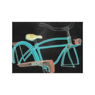 Impressão Em Tela Bicicleta da mãe