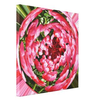 Impressão Em Tela Bola das tulipas