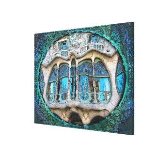 Impressão Em Tela Bom Gaudi!