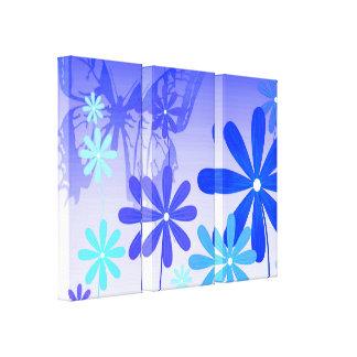 Impressão Em Tela Borboletas 3 da flor do duende