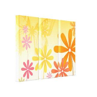 Impressão Em Tela Borboletas da flor do duende