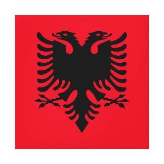 Impressão Em Tela Brasão albanesa