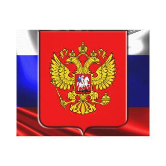 Impressão Em Tela Brasão do russo