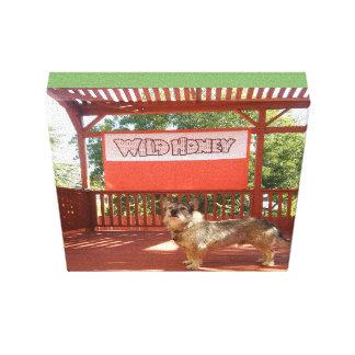 Impressão Em Tela Bronx no palco selvagem do quintal do mel