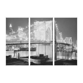 Impressão Em Tela Brooklyn-ponte