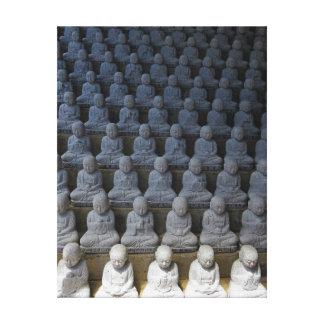 Impressão Em Tela Buddahs