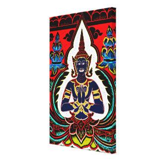 Impressão Em Tela Buddha da cor - arte da parede