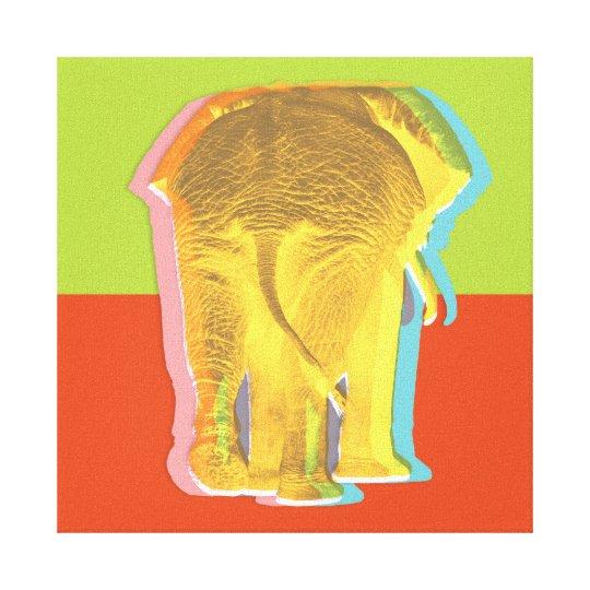 Impressão Em Tela Bunda de elefante