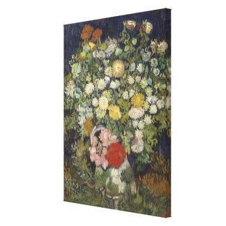 Impressão Em Tela Buquê das flores em um vaso