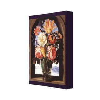 Impressão Em Tela Buquê das flores por Ambrosius Bosschaert