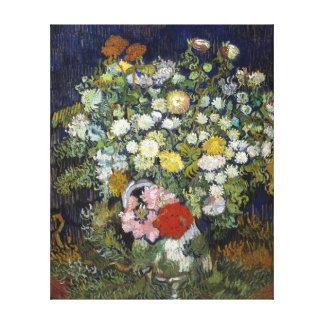 Impressão Em Tela Buquê de Vincent van Gogh das flores em um vaso