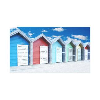 Impressão Em Tela Cabanas da praia