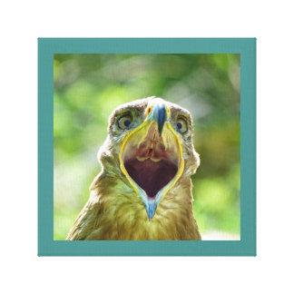 Impressão Em Tela Cabeça 001 de Eagle do estepe 07,11, gritando