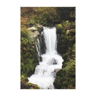 Impressão Em Tela Cachoeira bonita