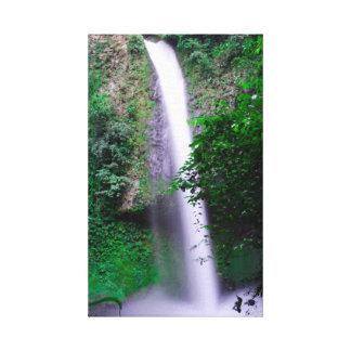 Impressão Em Tela Cachoeira de Fortuna do La