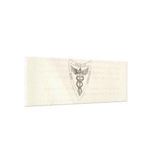Impressão Em Tela Caduceus no protetor