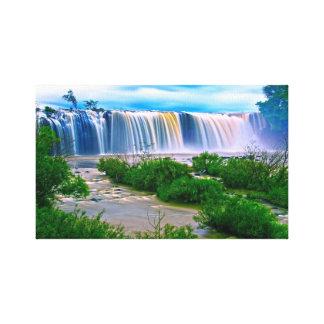 Impressão Em Tela Caleidoscópio da cachoeira