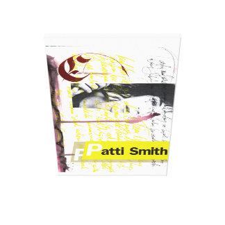 Impressão Em Tela Caligrafia 1 de Patti Smith