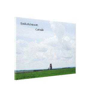 Impressão Em Tela Campos de Saskatchewan