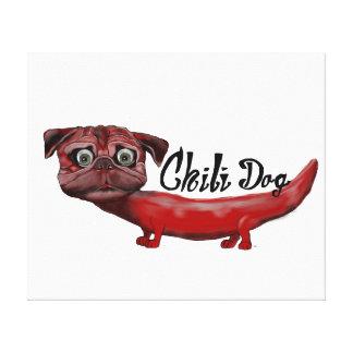 Impressão Em Tela Cão de pimentão